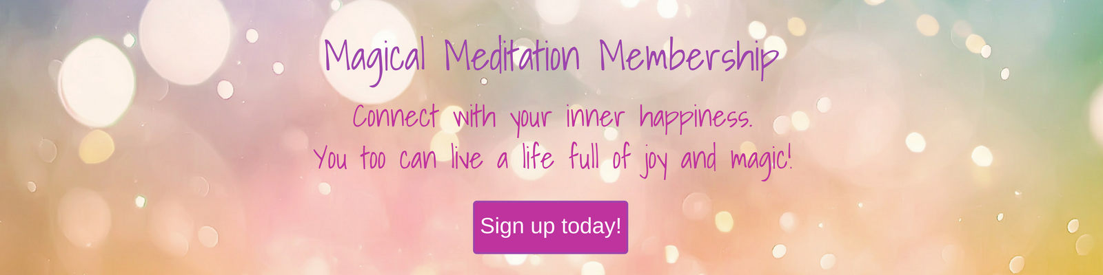 Magical Meditations Membership