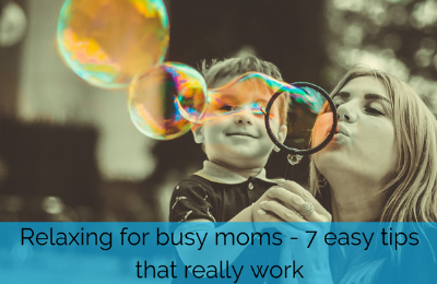 Relaxing for busy moms